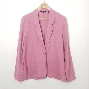 Vero Moda   Old Pink Single Button Blazer Jacket L